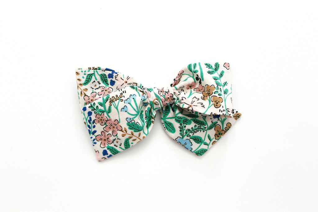 Foxley Floral - Oversized Knot Bow