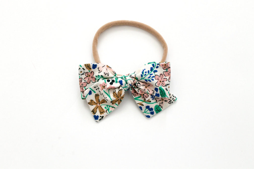 Foxley Floral - Mini Knot Bow