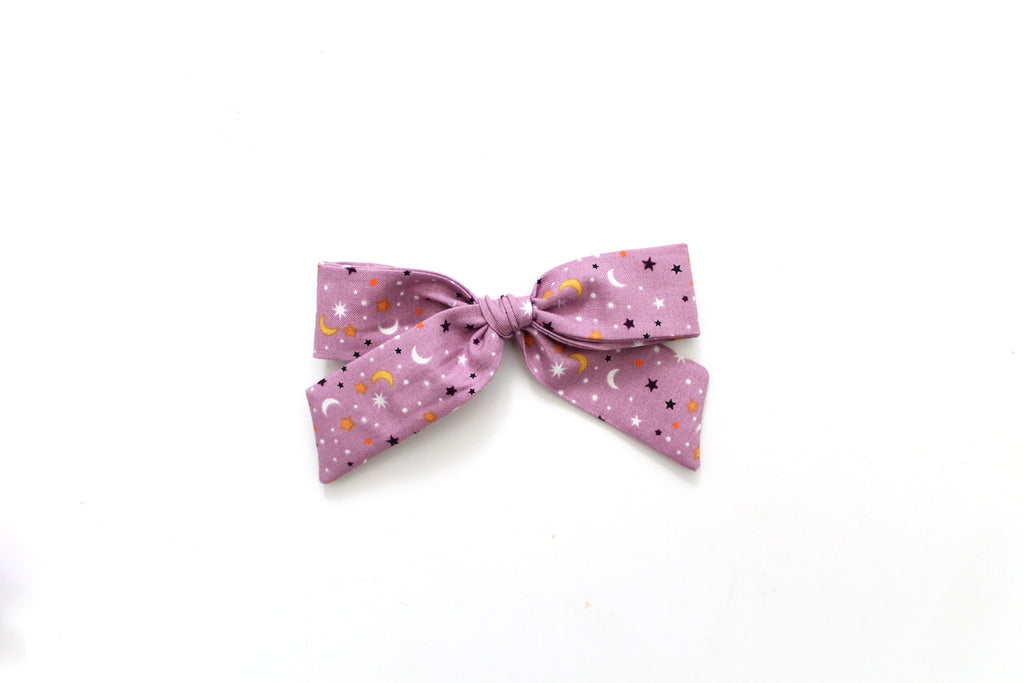 Star Scatter in Lavender - Oversized Hand-Tied