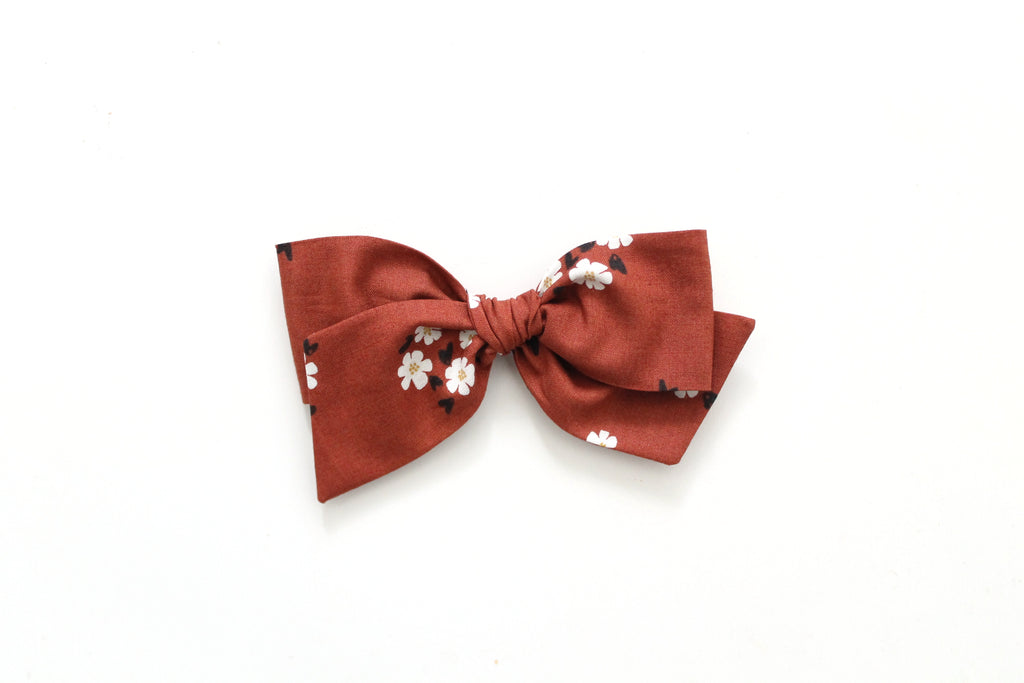 Posies in Brick - Oversized Knot Bow