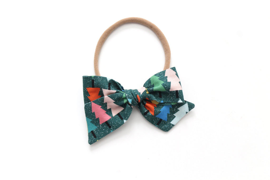 Colorful Tree's - Holiday - Mini Knot Bow