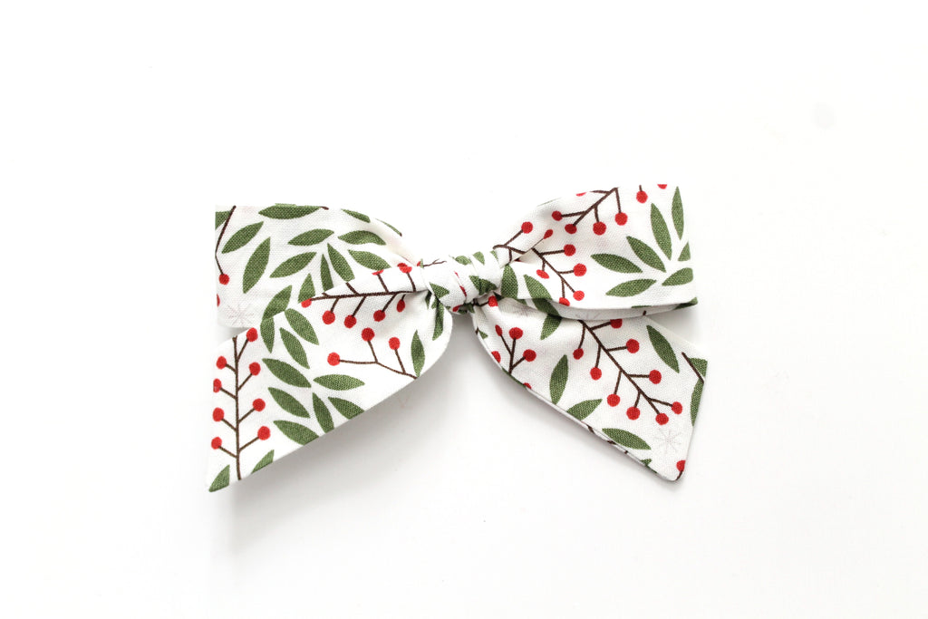 Holly Berry - Holiday - Oversized Hand-Tied
