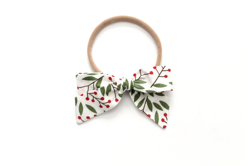 Holly Berry - Holiday - Mini Hand-Tied