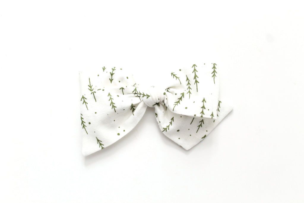 Evergreen Forest - Holiday - Oversized Knot Bow