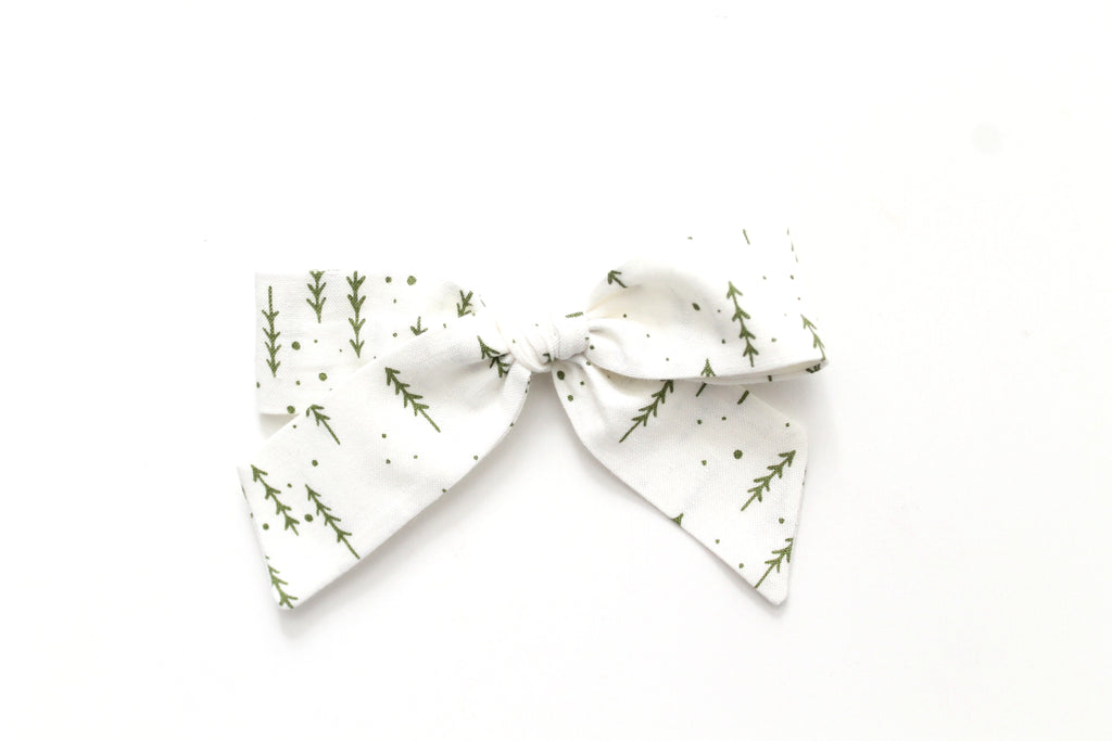 Evergreen Forest - Holiday - Oversized Hand-Tied