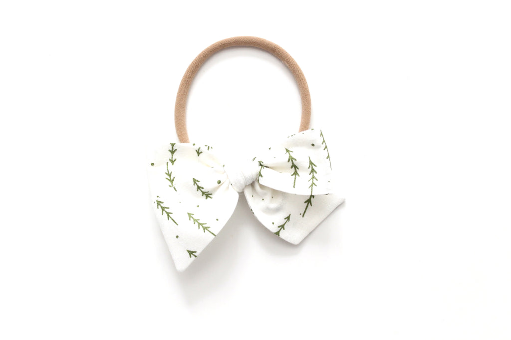Evergreen Forest - Holiday - Mini Knot Bow