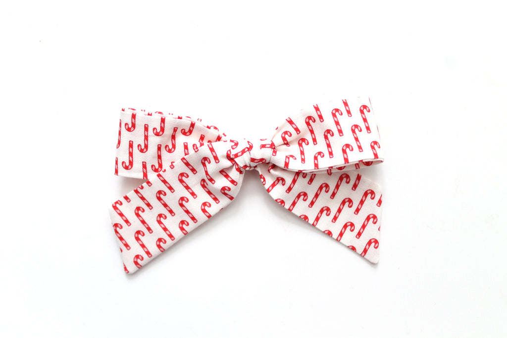 Candy Cane - Holiday - Oversized Hand-Tied