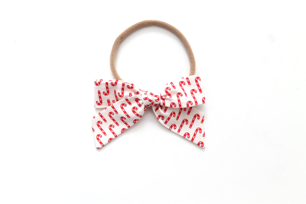 Candy Cane - Holiday - Mini Hand-Tied