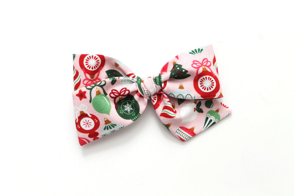 Ornaments - Holiday - Oversized Knot Bow