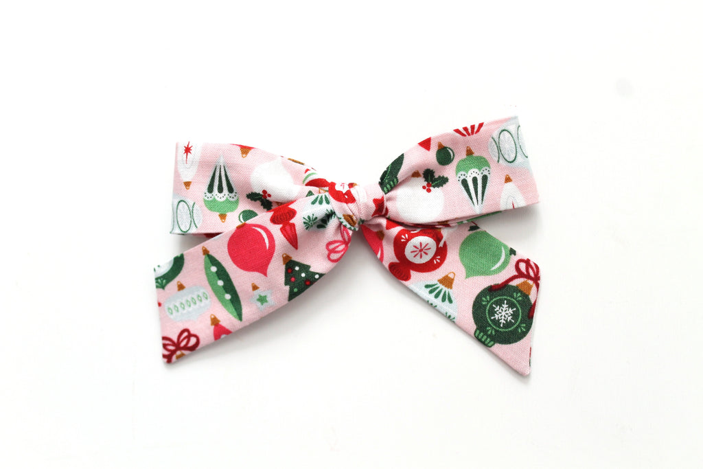 Ornaments - Holiday - Oversized Hand-Tied