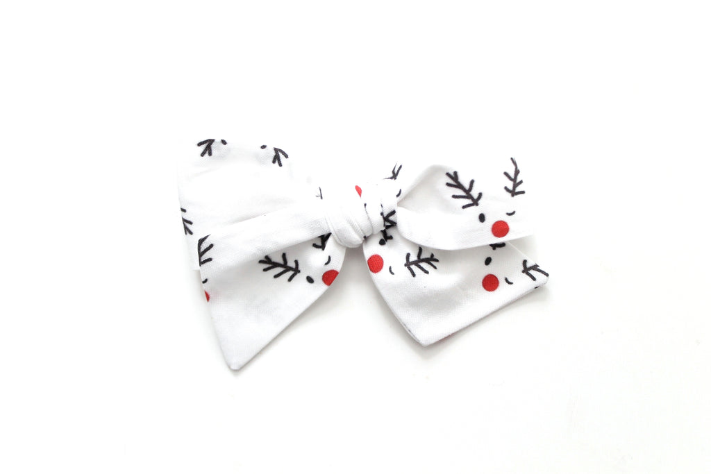 Rudolph - Holiday - Oversized Knot Bow