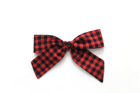 Buffalo Plaid - Holiday - Oversized Hand-Tied