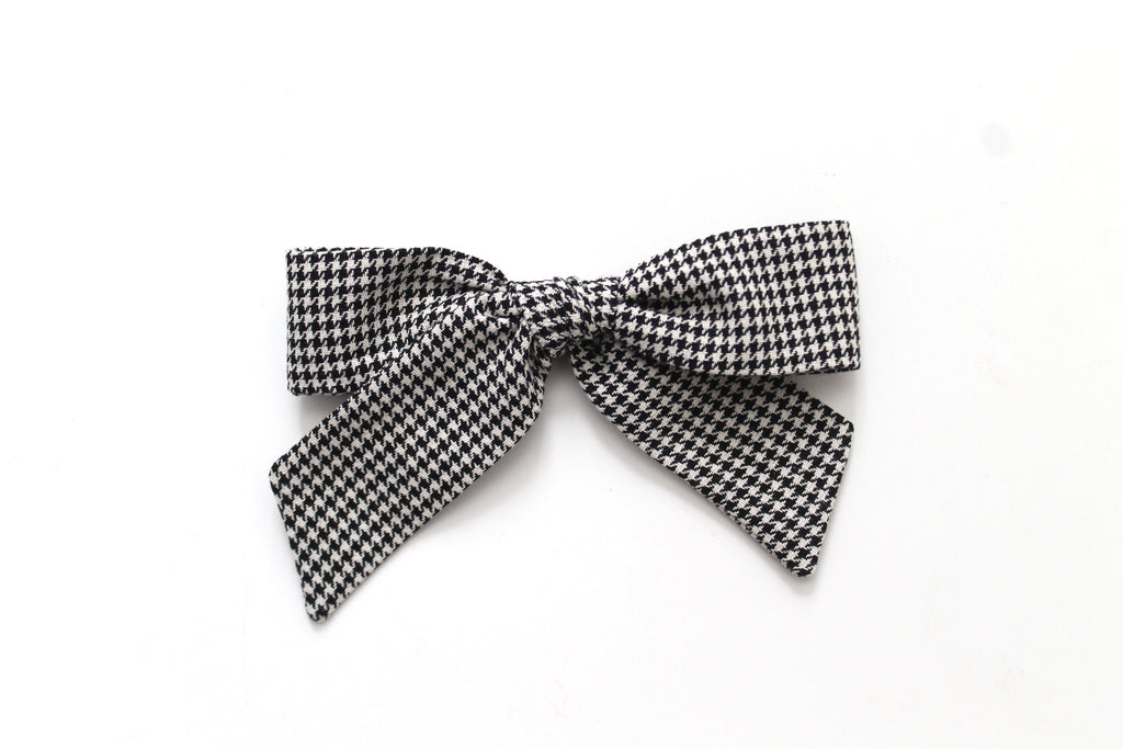 Houndstooth - Holiday - Oversized Hand-Tied