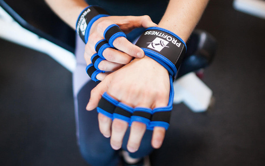 ProFitness® Silicone Workout Gloves