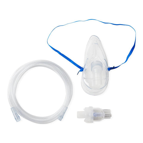 Cardinal Health Nebulizer Compressor System With Disposable Kit, 5 Filters, and Mask