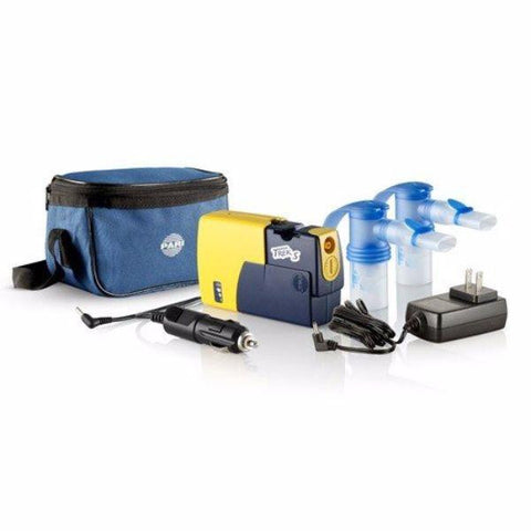 Pari Trek S Battery Powered Portable Compact Nebulizer Compressor System