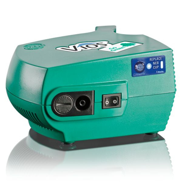 Pari Vios® Aerosol Compressor Standard with Nebulizer Kit - Go Green!