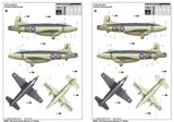 Trumpeter 02866 1/48 Supermarine Attacker F.1 - BlackMike Models
