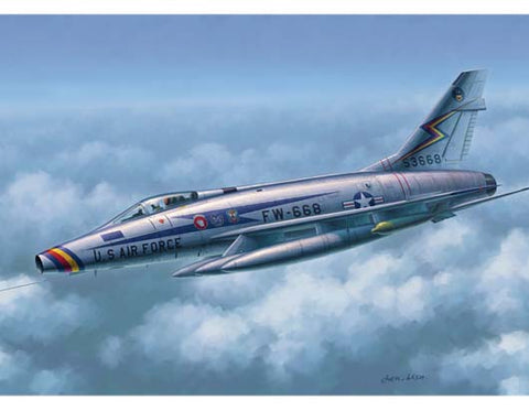 Trumpeter 02839 1/48 North American F-100D Super Sabre - BlackMike Models