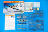Eduard 82151 1/48 scale Spitfire Mk.1a Profipack Edition contents - BlackMike Models