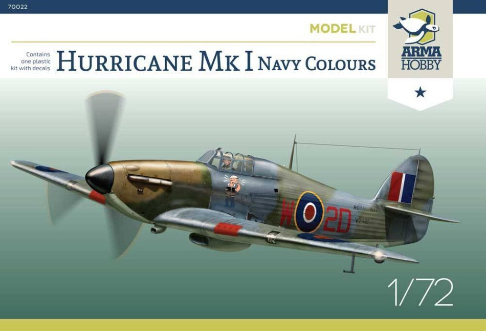 Arma Hobby 70022 Hurricane Mk.I Navy Colours - BlackMike Models
