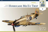 ARMA Hobby AH70037 1/72 Hurricane Mk IIc Tropical plastic kit - BlackMike Models