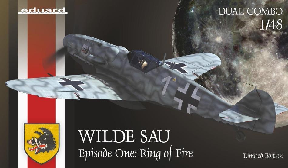 "Eduard 11140 1/48 ""Wilde Sau Epizode One: Ring of Fire"" Limited Edition Dual Combo - BlackMike Models"