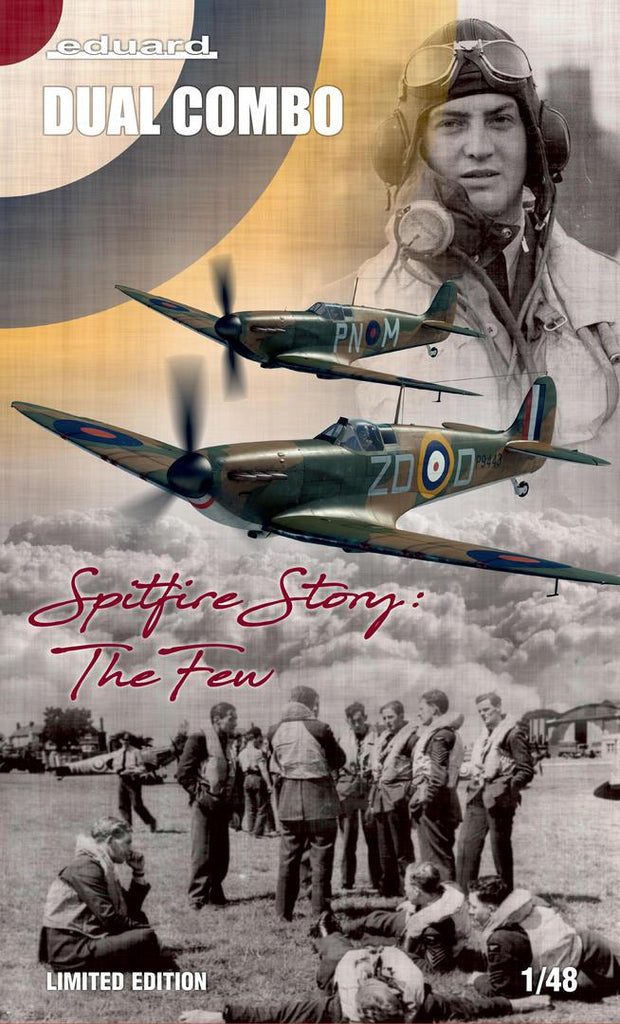 Eduard 11143 1/48 Spitfire Story: The Few Limited Edition - BlackMike Models