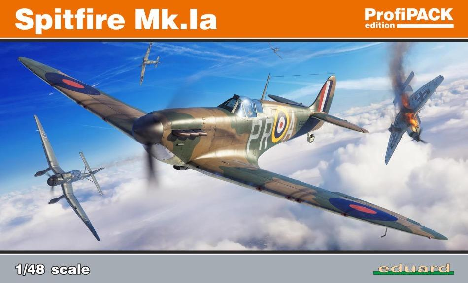 Eduard 82151 1/48 scale Spitfire Mk.1a Profipack Edition plastic model kit