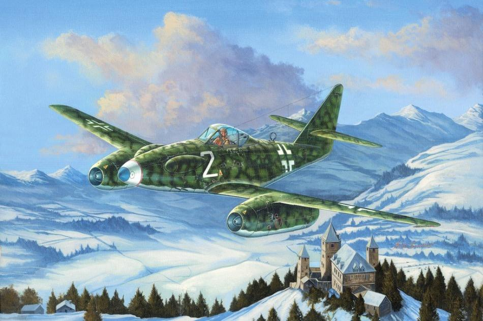 Hobbyboss 1/48 scale Messerschmitt Me262 A-1a/U3 plastic kit