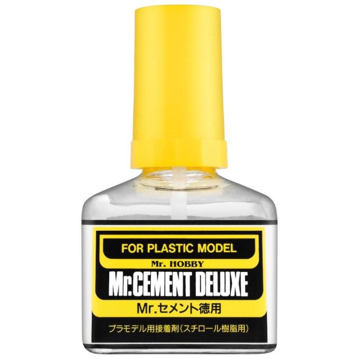 Mr Hobby, Mr Cement Deluxe 40ml - BlackMike Models