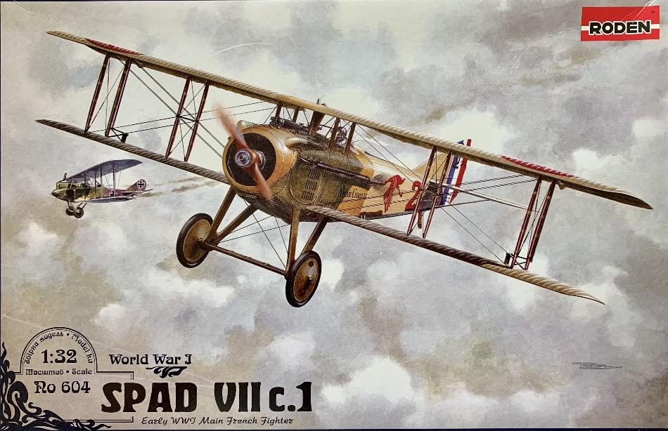 Roden 1/32 SPAD VIIc.1 (French) plastic kit - BlackMike Models