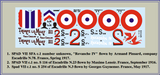 Roden 1/32 SPAD VIIc.1 (French) plastic kit decals - BlackMike Models