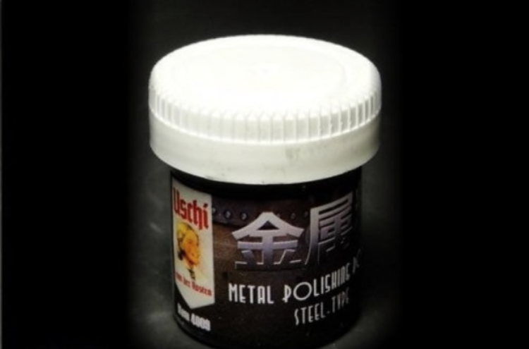 Uschi Van Der Rosten 4009 Metal Polishing Powder -  Steel Finish - BlackMike Models
