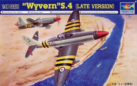 Trumpeter 02820 1/48 Westland Wyvern S.4 (Late version) - BlackMike Models