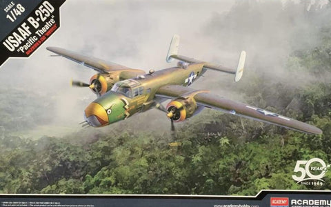 Academy 12328 1/48 USAAF B-25D Pacific Theatre - 1/48 Aircraft