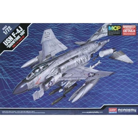 Academy 12515 1/72 USN F-4J Phantom Showtime 100 - 1/72 Aircraft