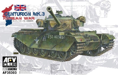 AFV Club AF35303 1/35 Centurion Mk.3 Korean War - 1/35 Military