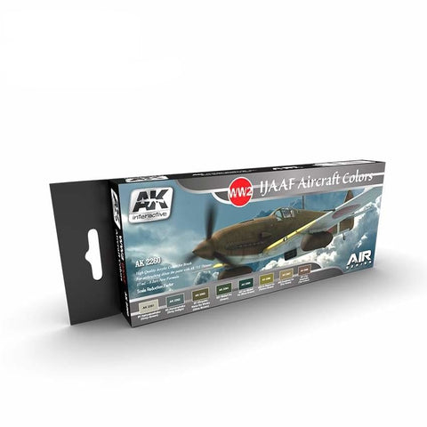 AK Interactive AK2260 WW2 IJAAF Aircraft Colours paint set - BlackMike Models