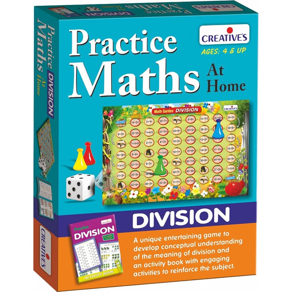 Creative Maths - Practice Maths at Home - Division - BlackMike Models