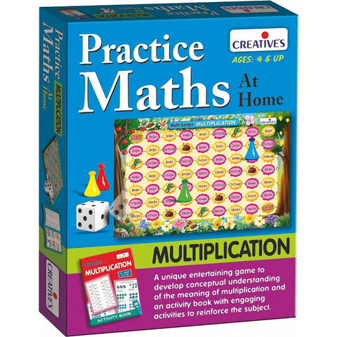 Creative Maths - Practice Maths at Home - Multiplication - BlackMike Models