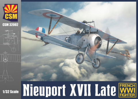 Copper State Models 32002 1/32 Nieuport XVII Late - BlackMike Models