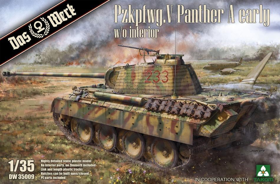 Das Werk DW35009 1/35 Panther Ausf.A Early kit - BlackMike Models