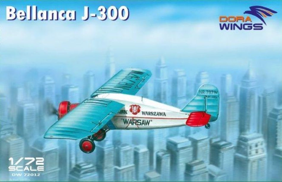"Dora Wings DW72012 1/72 Bellanca J-300 ""Liberty"" + ""Warsaw"" kit - BlackMike Models"
