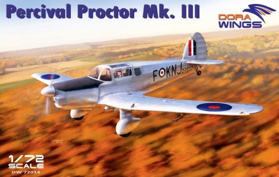 Dora Wings DW72014 1/72 Percival Proctor Mk.III - BlackMike Models