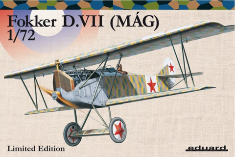 Eduard 2128 1/72 Fokker D. VII (MAG)  Limited Edition - BlackMike Models