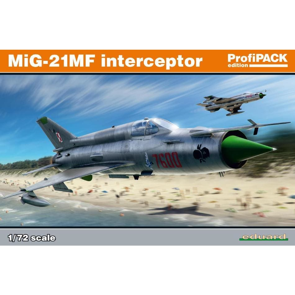 Eduard 70141 1/72 Mig 21 MF Profipack edition - BlackMike Models