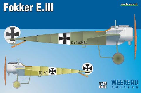 Eduard 7444 1/72 Fokker E.III Weekend Edition - BlackMike Models