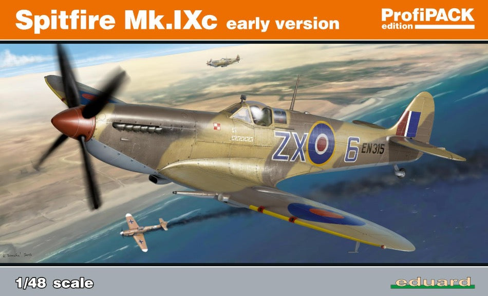 Eduard 8282 1/48 Spitfire Mk. IXc Early Profipack Re-Edition