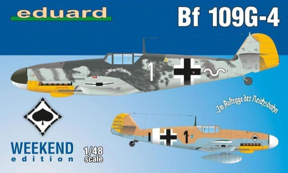 Eduard 84149 1/48 Bf 109G-4 Weekend Edition - BlackMike Models